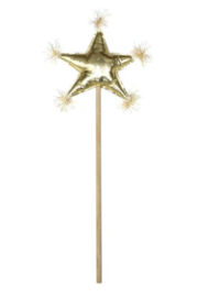Oh Baby ! Metallic Star Wand - Front cropped
