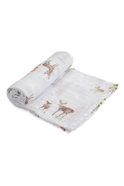Little Unicorn Oh-Deer Cotton Swaddle - Front cropped