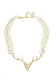 Zenzii Oh Deer Necklace - Product Mini Image