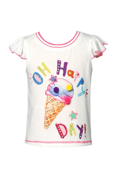 Shoptiques Product: Oh Happy Day Ice Cream Tee