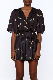 OH MY LOVE Kimono Romper - Side cropped