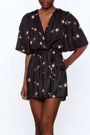 OH MY LOVE Kimono Romper - Front cropped
