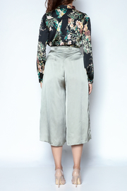 OH MY LOVE Callicarpa Satin Culottes - Other