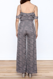 OH MY LOVE Lathyrus Frill Jumpsuit - Back cropped