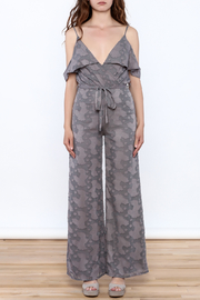 OH MY LOVE Lathyrus Frill Jumpsuit - Front cropped