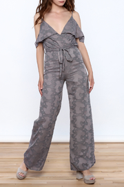OH MY LOVE Lathyrus Frill Jumpsuit - Front full body