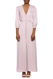 OH MY LOVE Tea Maxi Dress - Front cropped