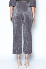 OH MY LOVE Tulbaghia Pleat Culottes - Back cropped