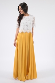 Space46 Oh-My Mustard Maxi-Skirt - Product Mini Image