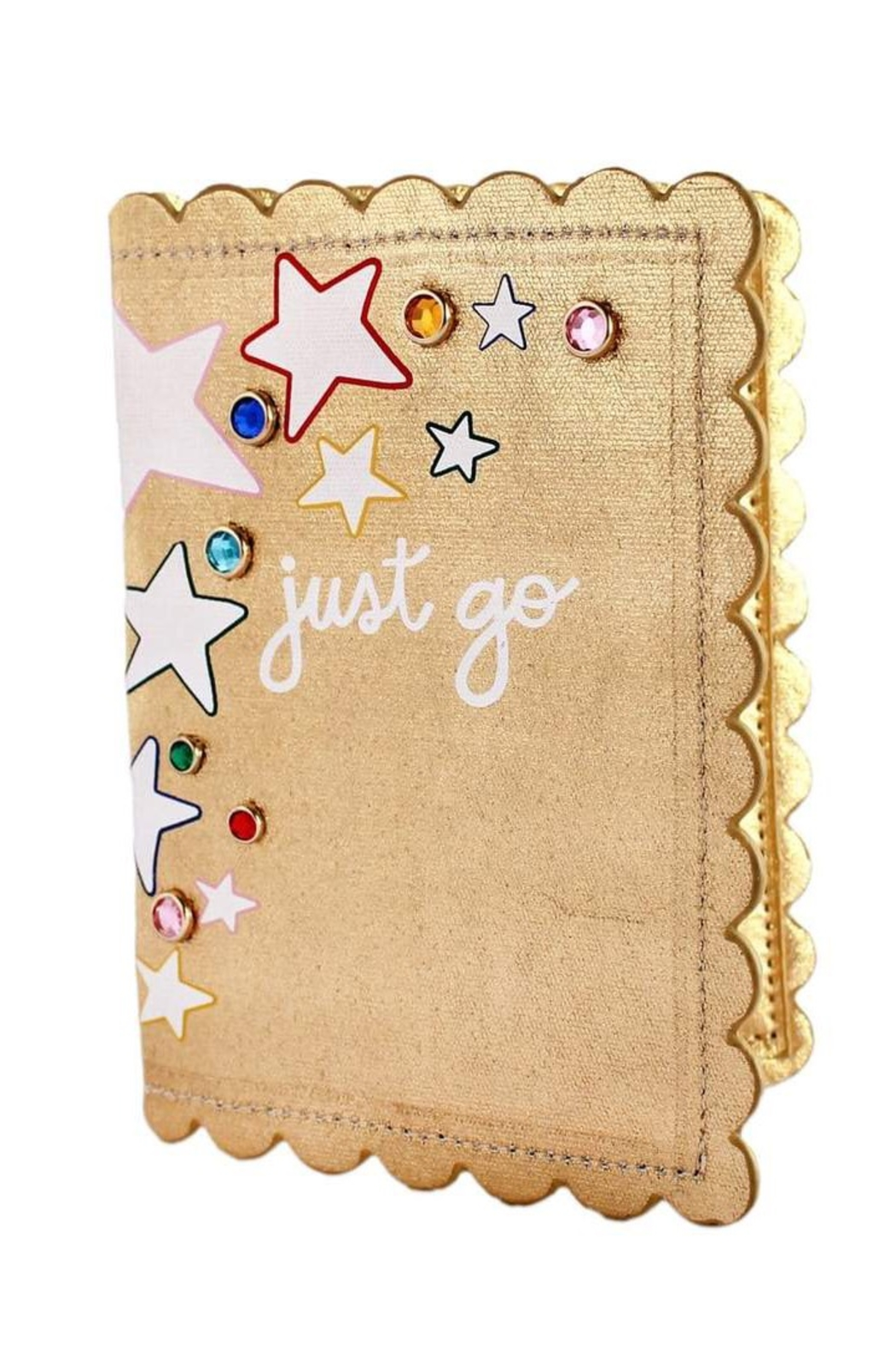Packed Party Oh My Stars Passport Holder - Front Cropped Image