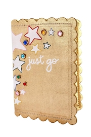 Packed Party Oh My Stars Passport Holder - Front cropped