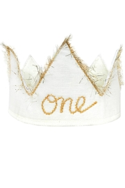 Oh Baby Birthday Crown - Front cropped