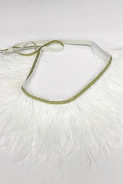 Oh Baby Feather Tutu Topper - Front cropped