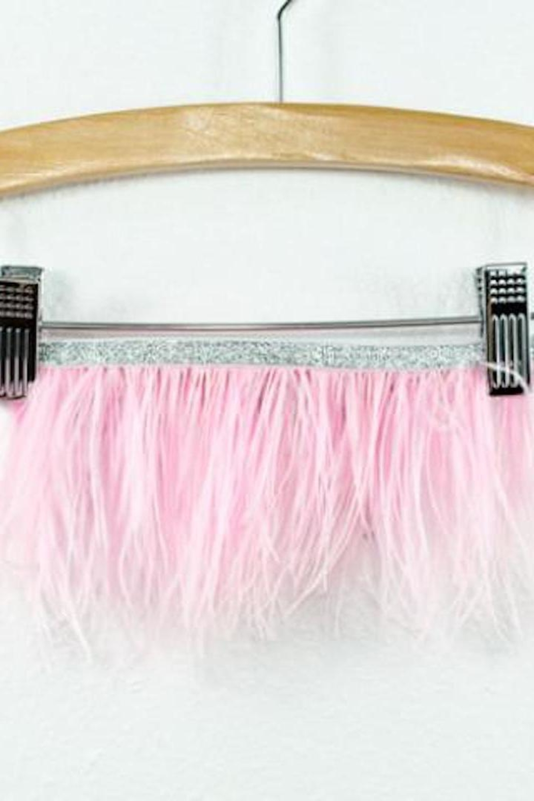Oh Baby Feather Tutu Topper - Main Image