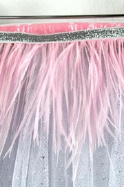 Oh Baby Feather Tutu Topper - Side cropped