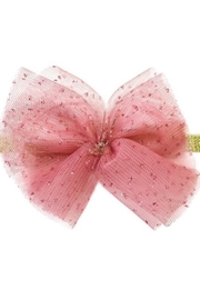 Oh Baby Glinda Blush Bow - Front cropped