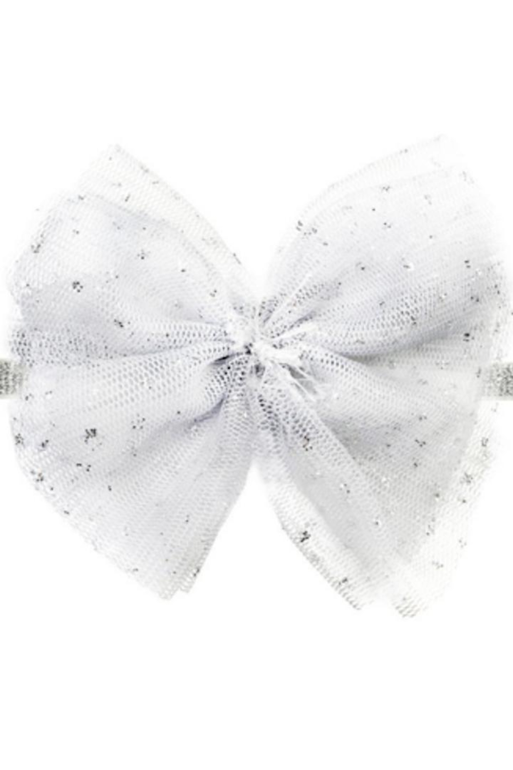 Oh Baby Glinda White Bow - Front Cropped Image
