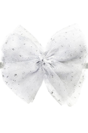 Oh Baby Glinda White Bow - Front cropped