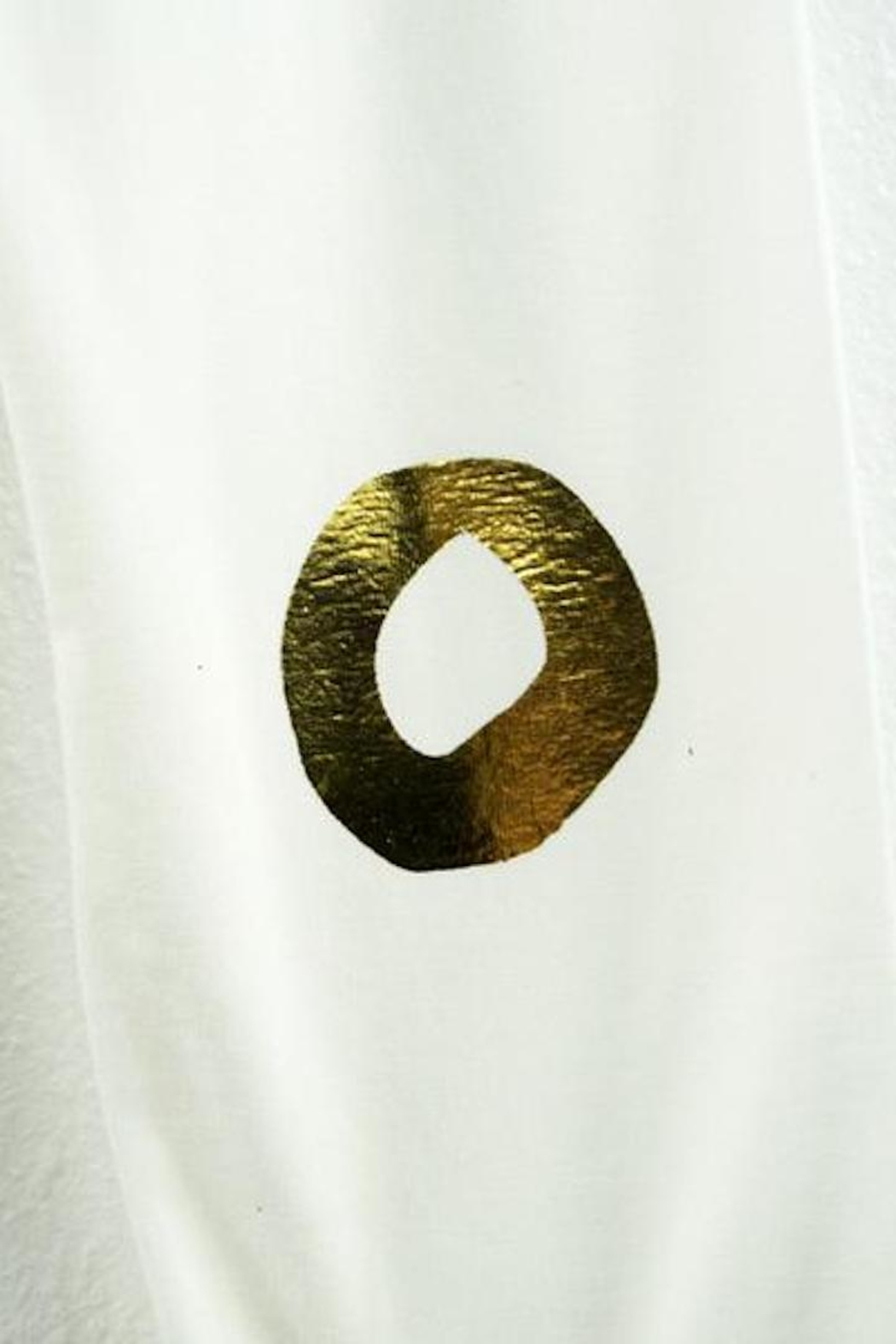 Oh Baby! Gold Foil Leggings - Side Cropped Image