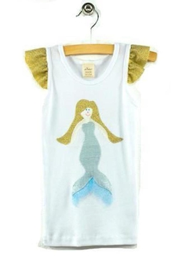 Oh Baby Shimmer Mermaid Tank - Product List Image