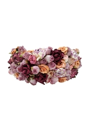 Oh la Flor Adorable Flowers Tiara - Front full body