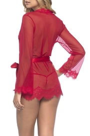 Oh la la Cheri Sheer Lace Robe - Product Mini Image