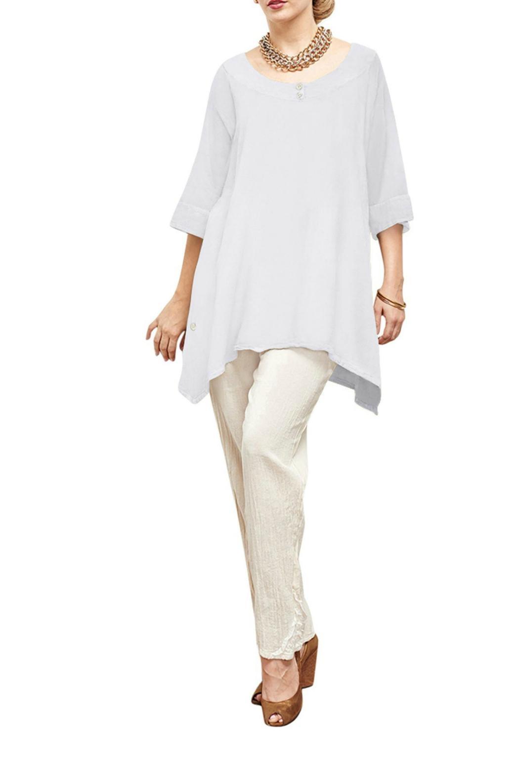Oh My Gauze Marcy Loose Blouse - Front Cropped Image