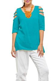 Oh My Gauze Miami Blouse - Front cropped