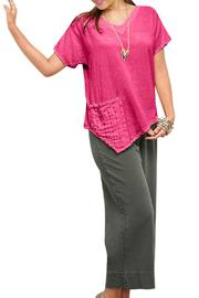 Oh My Gauze Polly Blouse - Front cropped