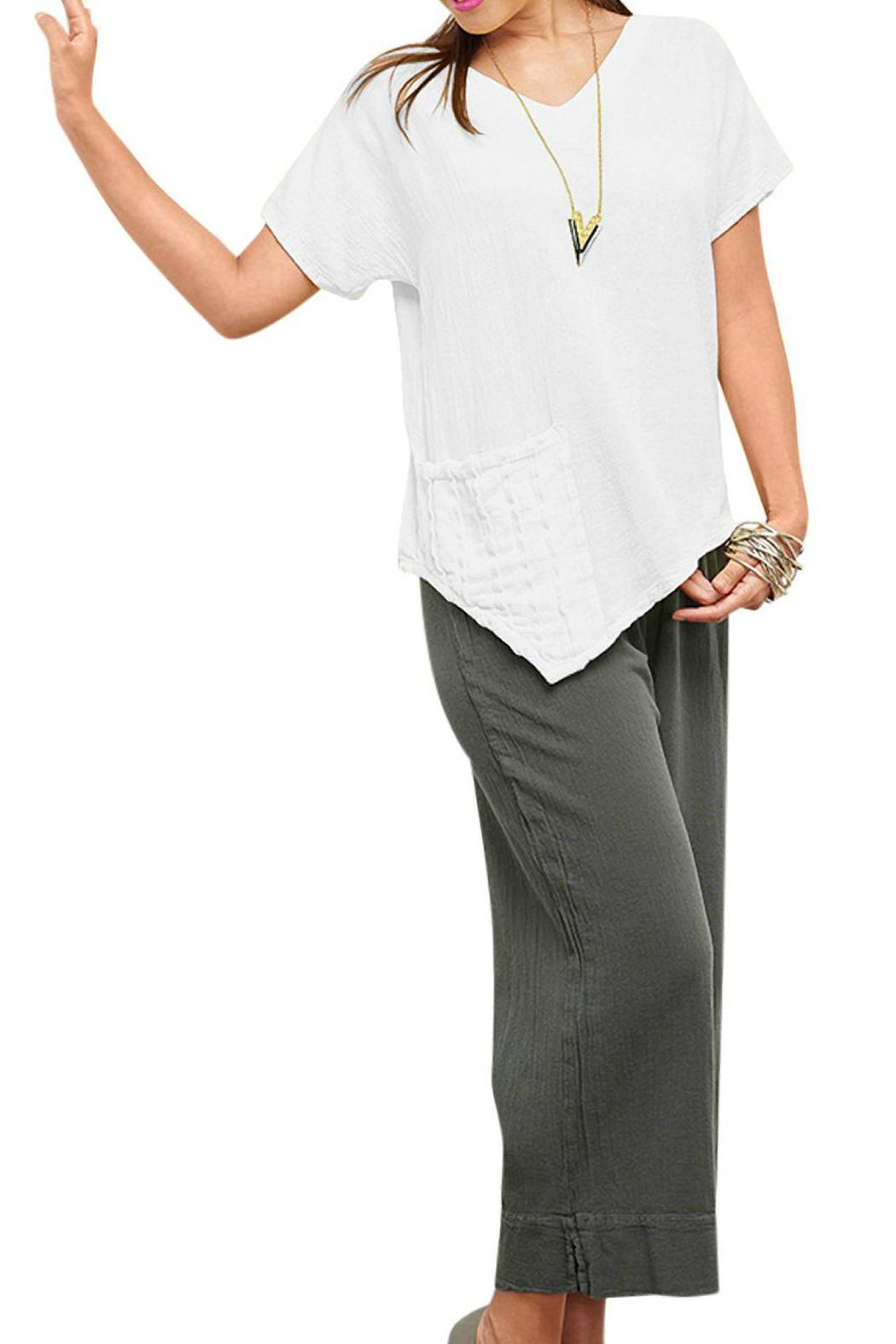 Oh My Gauze Polly Blouse - Front Cropped Image