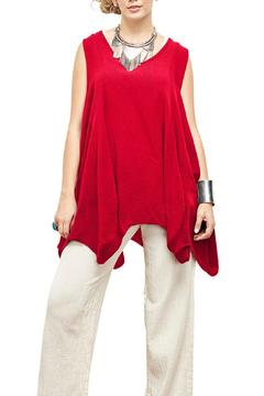 Shoptiques Product: Red Feather Blouse