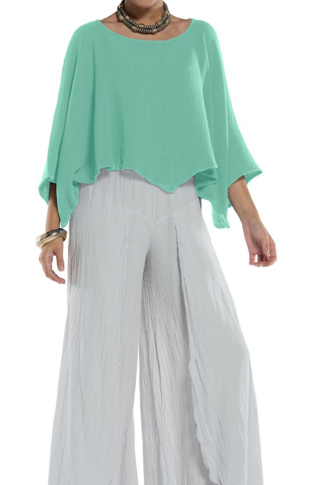 Oh My Gauze Vanna Top - Front Cropped Image