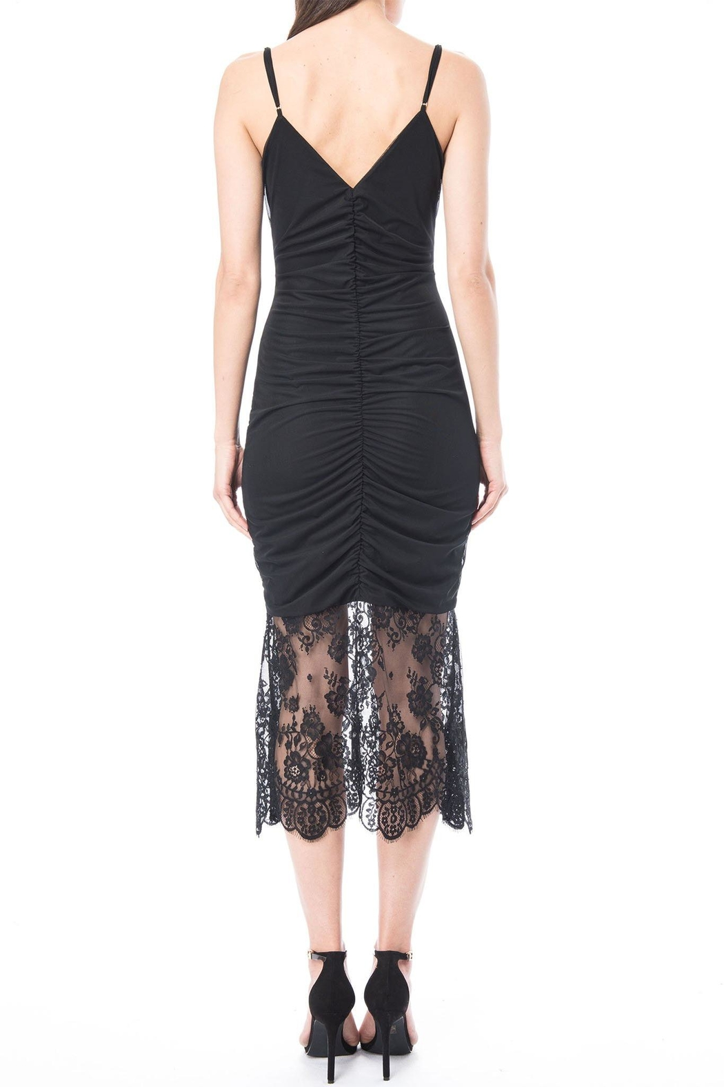 Cami NYC Ohanna Mesh Dress - Front Full Image