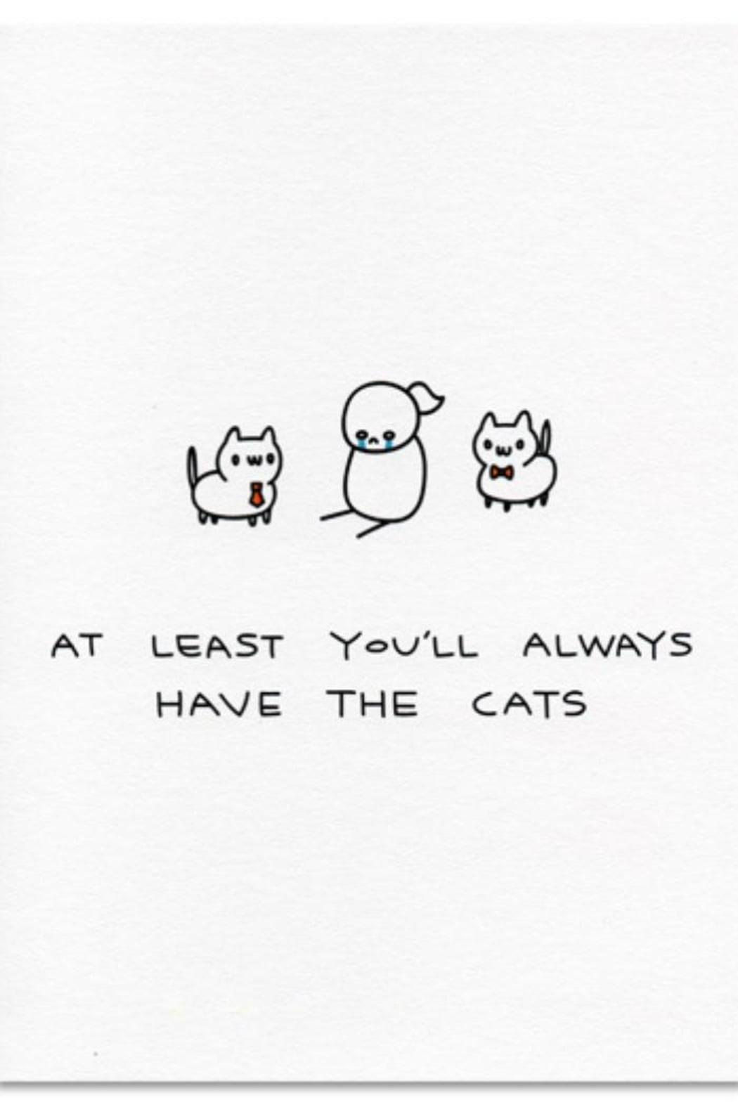 Ohh Deer Always Have Cat Card - Main Image