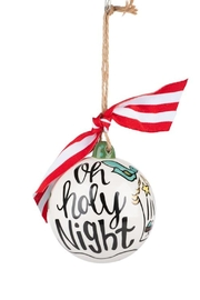 Glory Haus Ohholy Night Ornament - Front cropped