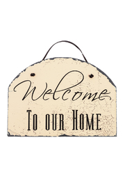 Ohio Wholesale Home Welcome Slate - Front full body