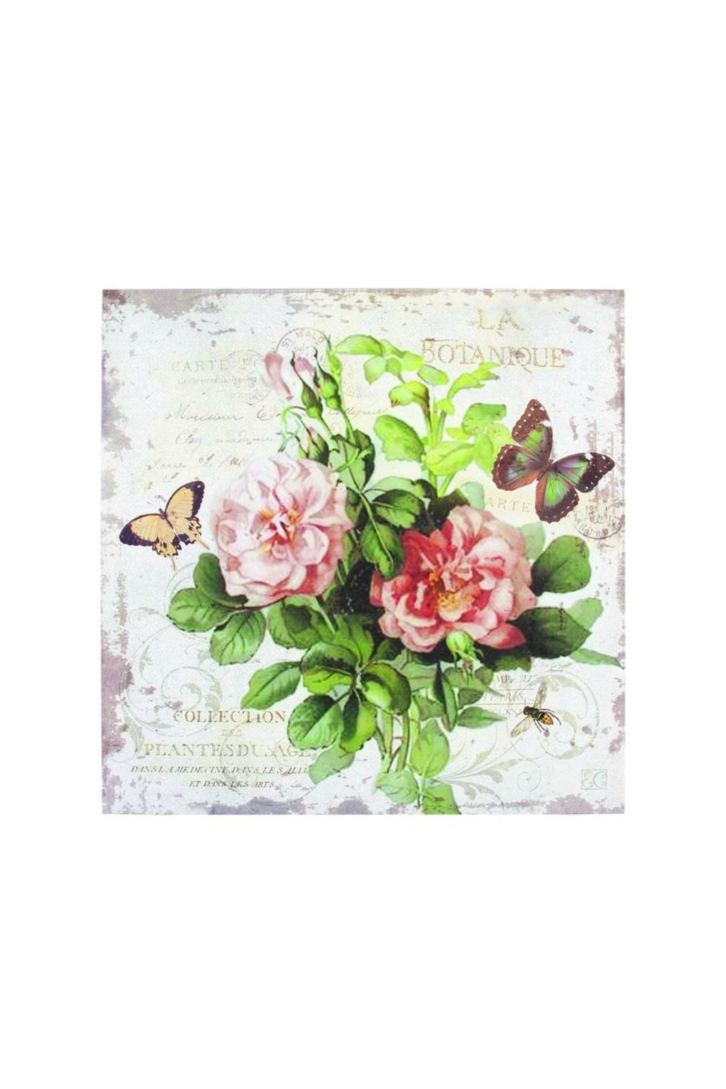 Ohio Wholesale French Floral Canvas - Front Cropped Image