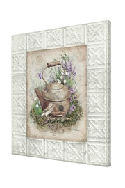 Ohio Wholesale Teapot Birdhouse Canvas - Product Mini Image