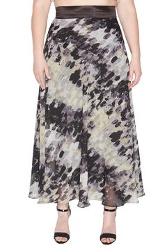 Shoptiques Product: Black/white Maxi Skirt