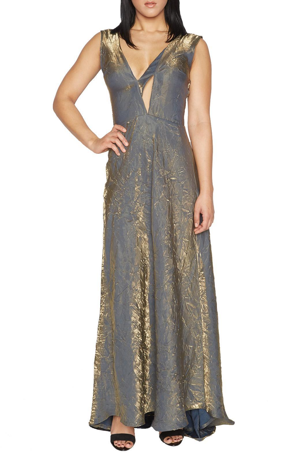 OHLENDORF atelier Gold Formal Gown from Portland — Shoptiques