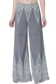 OHLENDORF atelier Graphic Palazzo Pant - Front full body