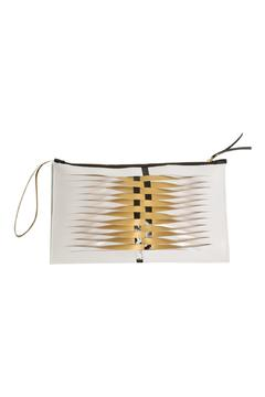 Shoptiques Product: Hand-Painted Woven Clutch