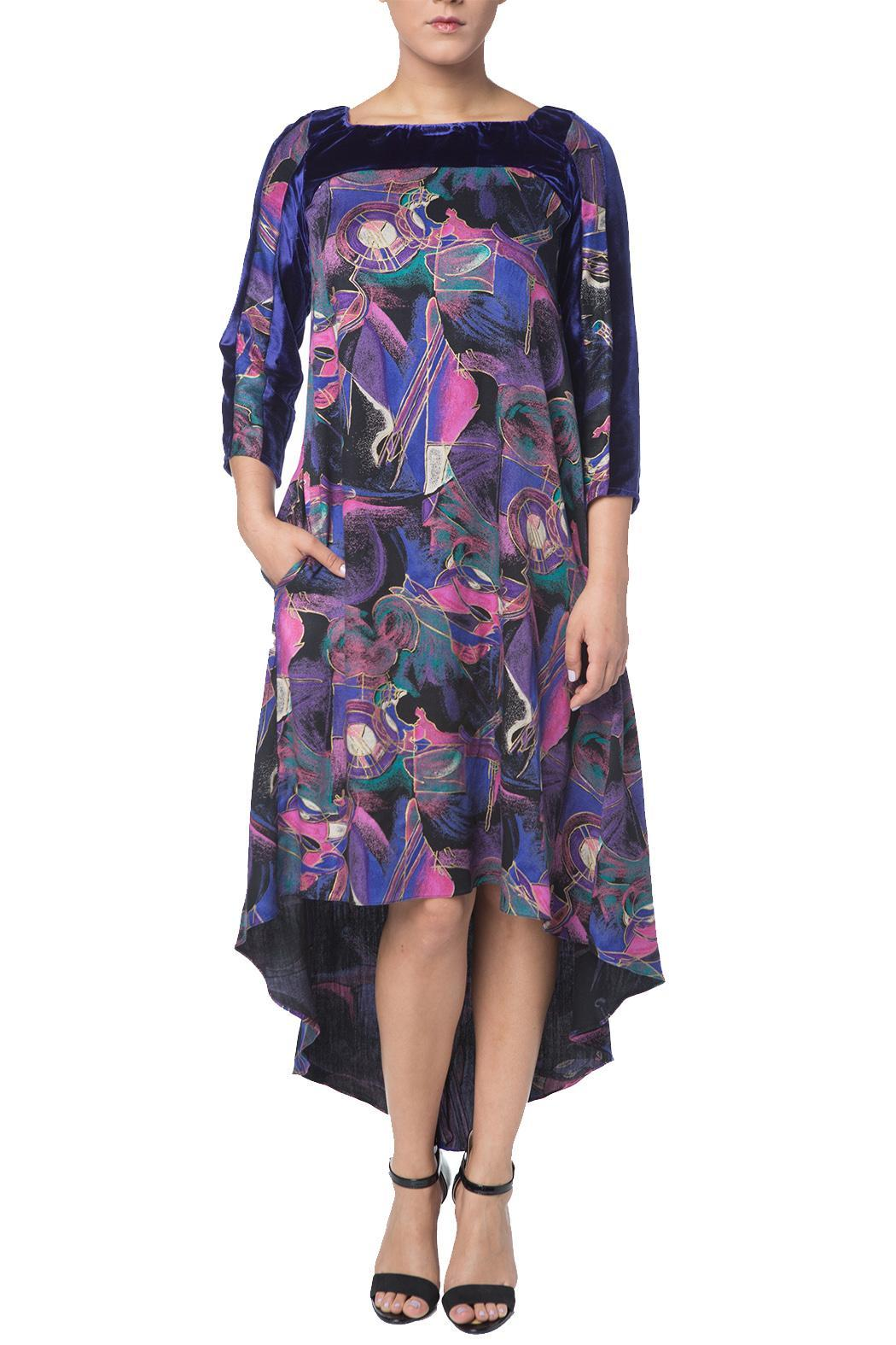 OHLENDORF atelier Rayon Print Dress - Main Image