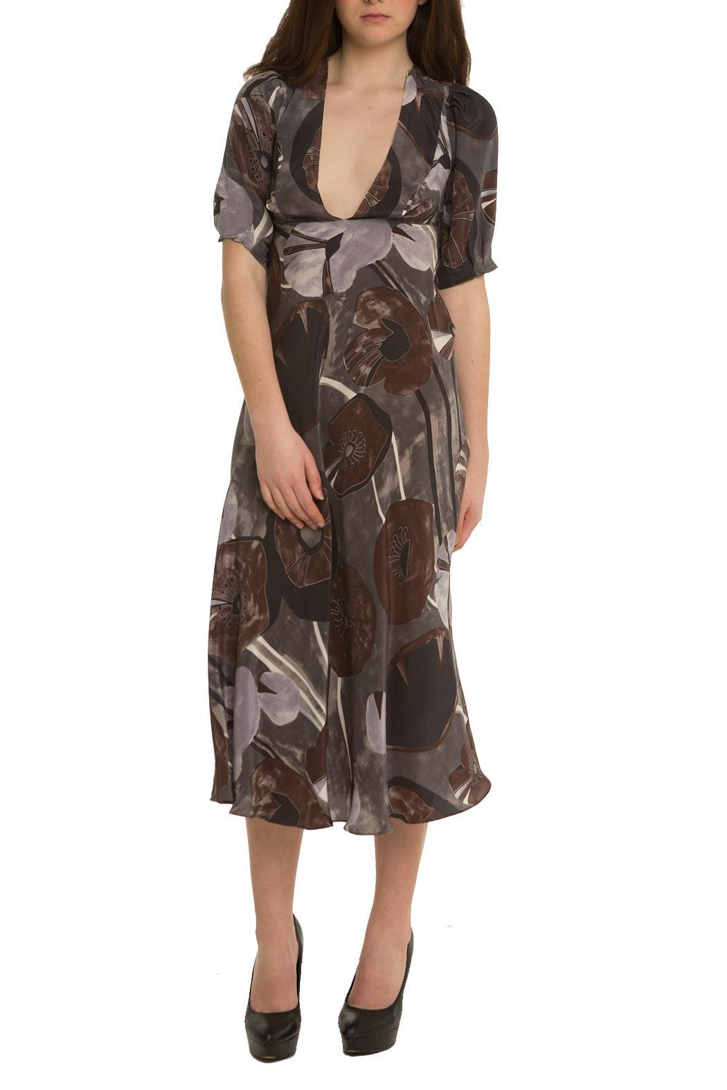 OHLENDORF atelier Silk Floral Dress - Main Image