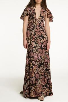 Shoptiques Product: Floral Silk Maxi