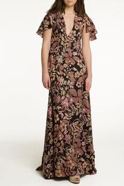OHLENDORF atelier Floral Silk Maxi - Front cropped