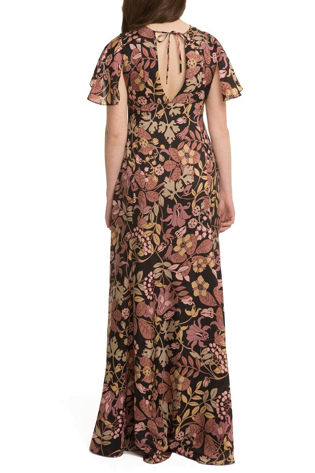 OHLENDORF atelier Floral Silk Maxi - Side Cropped Image
