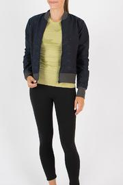 Oiselle Quilted Bomber Jacket - Product Mini Image