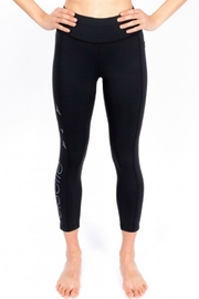 Oiselle Team 3/4 Tights - Front full body