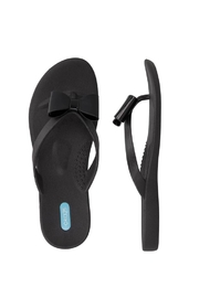 Oka-B Bow Flip Flop - Front cropped